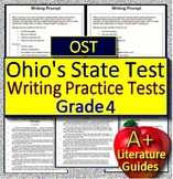 4th Grade Ohio's State Test Writing Prep Tests - OST Explanatory + Informative
