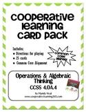 4th Grade Operations & Algebraic Thinking (4.OA.4) Card Pack