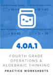 4th Grade Operations & Algebraic Thinking Worksheet (4.OA.1)