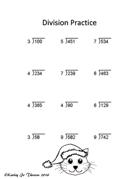 4th Grade Operations Review Packet