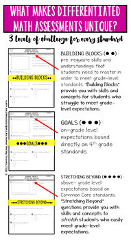 4th Grade Operations and Algebraic Thinking Worksheets, Word Problems, and Tests