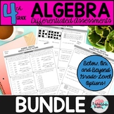 4th Grade Operations and Algebraic Thinking Worksheets, Wo