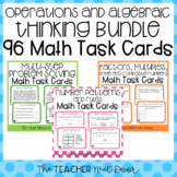 4th Grade Operations and Algebraic Thinking Task Card Bund