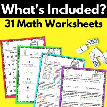 4th Grade Operations and Algebraic Thinking Worksheets