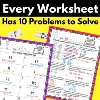 4th Grade Operations and Algebraic Thinking Worksheets