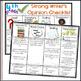 4th Grade Opinion Writing Checklist