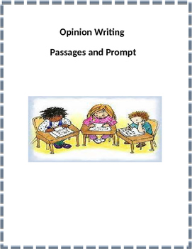 4th Grade Opinion Writing/Text Based Writing