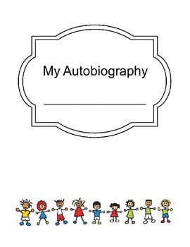 4th Grade PBT Blank Autobiography Cover, Paper, and Timeline