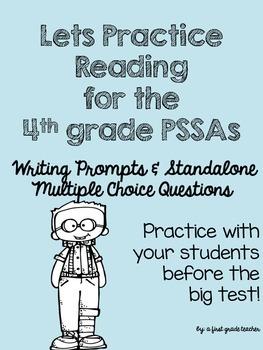 4th Grade PSSA ELA Practice