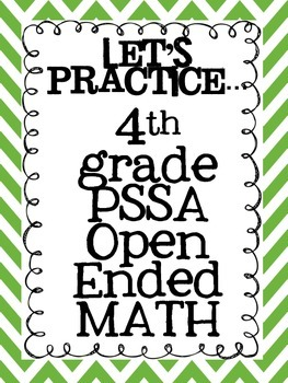 Pssa Math Prep Teaching Resources Teachers Pay Teachers