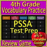 4th Grade PSSA Test Prep Vocabulary and Greek Mythology Allusions Review Game
