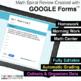4th Grade Math Spiral Review | Google Forms | Google Classroom PAPERLESS Bundle