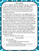 4th Grade Patterns and Sequences Task Cards and Test