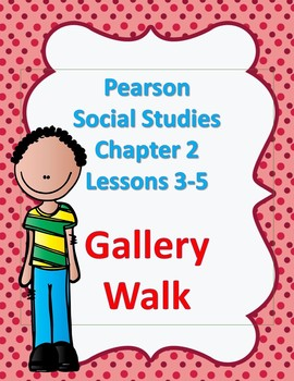 Pearson 4th grade Social Studies Chapter 2 Lessons 3-5