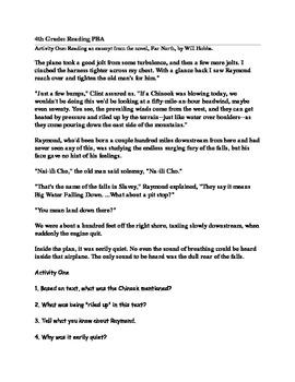 ELA Grade-4, Performance Based Assessment: 3 Passage - Read & Write