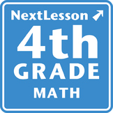 4th Grade Math Performance Tasks Bundle