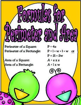 4th Grade Perimeter and Area (TEKS 4.5D) STAAR Practice