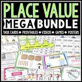 4th Grade Place Value Bundle (4.NBT.A1, A2, and A3)