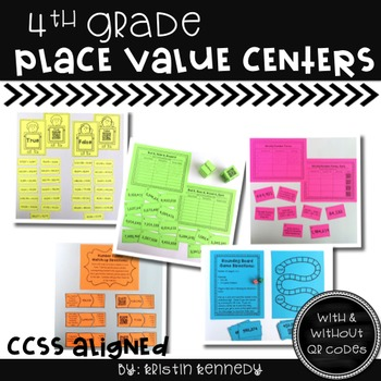 4th Grade Place Value Centers