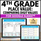 4th Grade Place Value Digital Practice {4.NBT.1} - Use wit