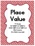 Place Value Mini-Lessons for Math Journals