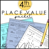 4th Grade Place Value Packet