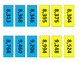 4th Grade Place Value Perfect Fit - Number Line Game for Common Core