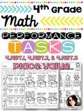 4th Grade Printables Place Value Performance Tasks 4.NBT.1, 4.NBT.2, 4.NBT.3