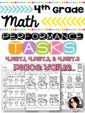 4th Grade Printables Place Value Performance Tasks 4.NBT.1