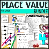 4th Grade Place Value Unit - Everything But the Dice