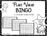 4th Grade Decimal Place Value Bingo: TEKS 4.2B, 4.2C & CCSS 4.NBT.A.2