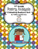 4th Grade Poetry Analysis