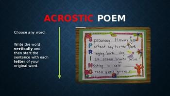 4th Grade Poetry Unit