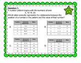 4th Grade Position in Sequence 4.5B