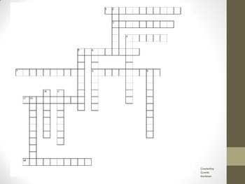antitoxins crossword puzzle