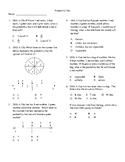 4th Grade Probability Unit Test
