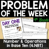 4th Grade Math | Problem of the Week | Number and Operations