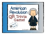 4th Grade QR Code Activity for American Revolution Fact Review
