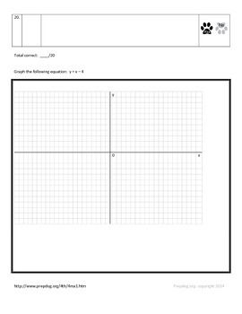 4th Grade RIT Math Worksheets- Basic, Proficient, and Advanced