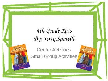 4th Grade Rats Center Activities