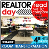 4th Grade Read Write Compare Large Numbers   Realtor Class
