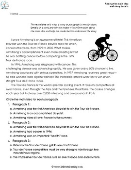 4th Grade Reading Comprehension   4th Grade Reading Review ...