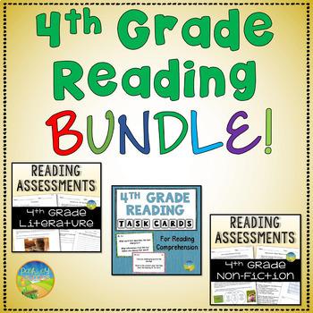 4th Grade Reading Comprehension BUNDLE!