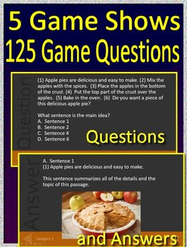 4th Grade Reading Comprehension Passages and Questions Close Reading Bundle