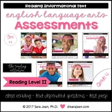 4th Grade • Reading Comprehension Passages and Questions • RL II • Bundle
