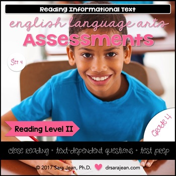 4th Grade • Reading Comprehension Passages and Questions • RL II • Set 4