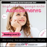4th Grade • Reading Comprehension Passages and Questions • RL II • Set 5
