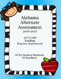 4th Grade Reading Extended Standards Practice Test Alabama Alternate Assessment