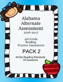4th Grade Reading Extended Standards Practice Test PACK 2 AAA