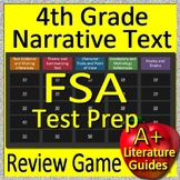 4th Grade FSA Test Prep Reading Literature and Narrative Review Game